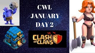 Day 2 January CWL Win Spartin Warriors