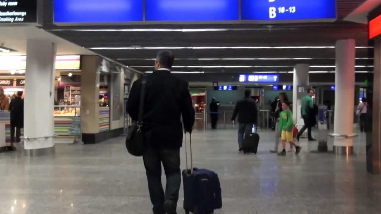 how to connect at frankfurt airport from terminal 1b bus to gate z69 walkthrough youtube. Black Bedroom Furniture Sets. Home Design Ideas