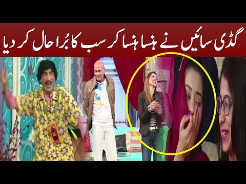 Best Comedy Of Sajan Abbas And Akram Udass | Cyber Tv