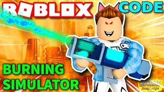Roblox | KIA FLAME SPRAY burned WHOLE NEIGHBORHOOD-Burning Simulator (Code) | KiA Pham
