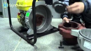 видео Мотопомпы для грязной воды