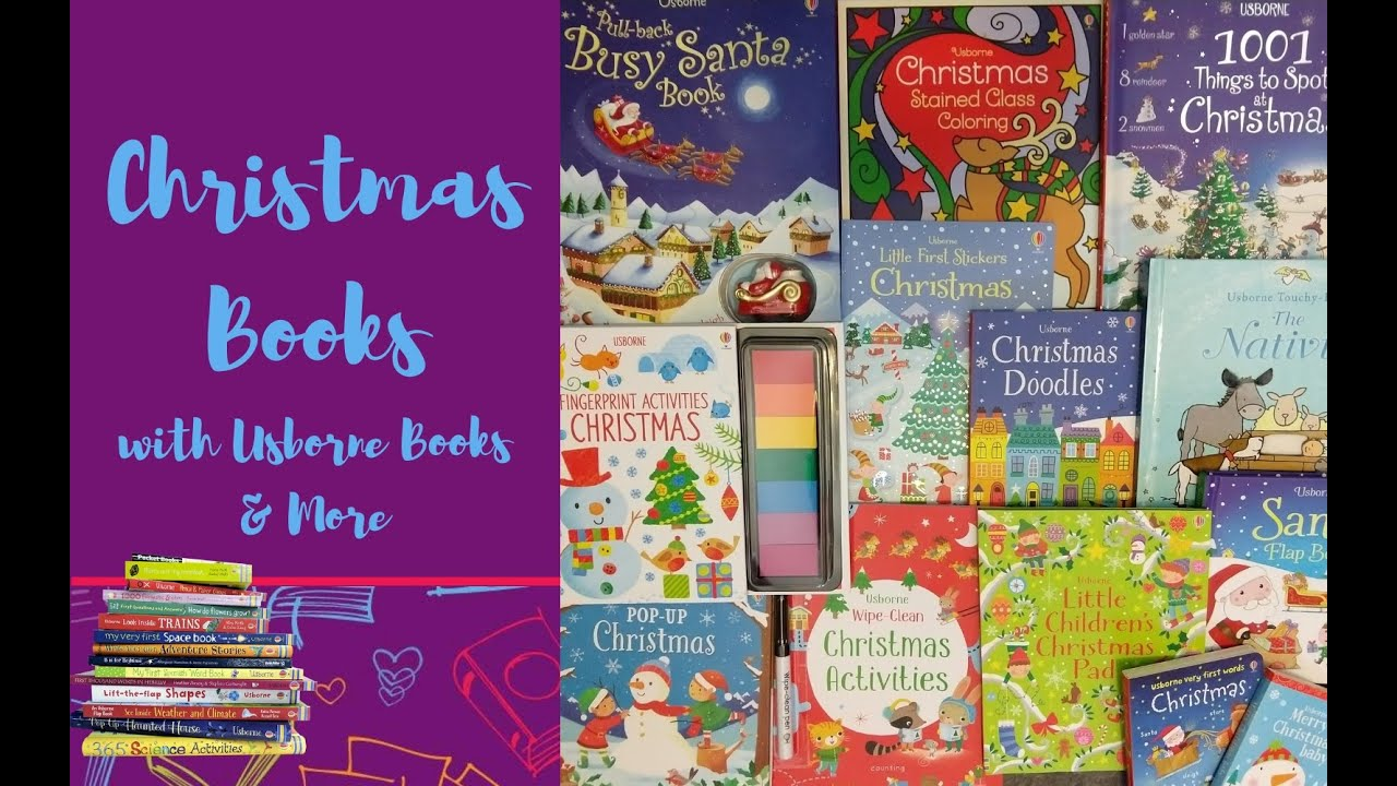 christmas books with usborne books more