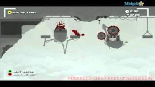 Super Meat Boy Walkthrough - Teh Internets - Remnants I-2 Ground Switch
