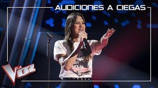 Beatriz Pérez canta 'Nada es para siempre' | Audiciones a ciegas | La Voz Antena 3 2019