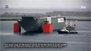 HLV Blue Marlin y LHD Canberra
