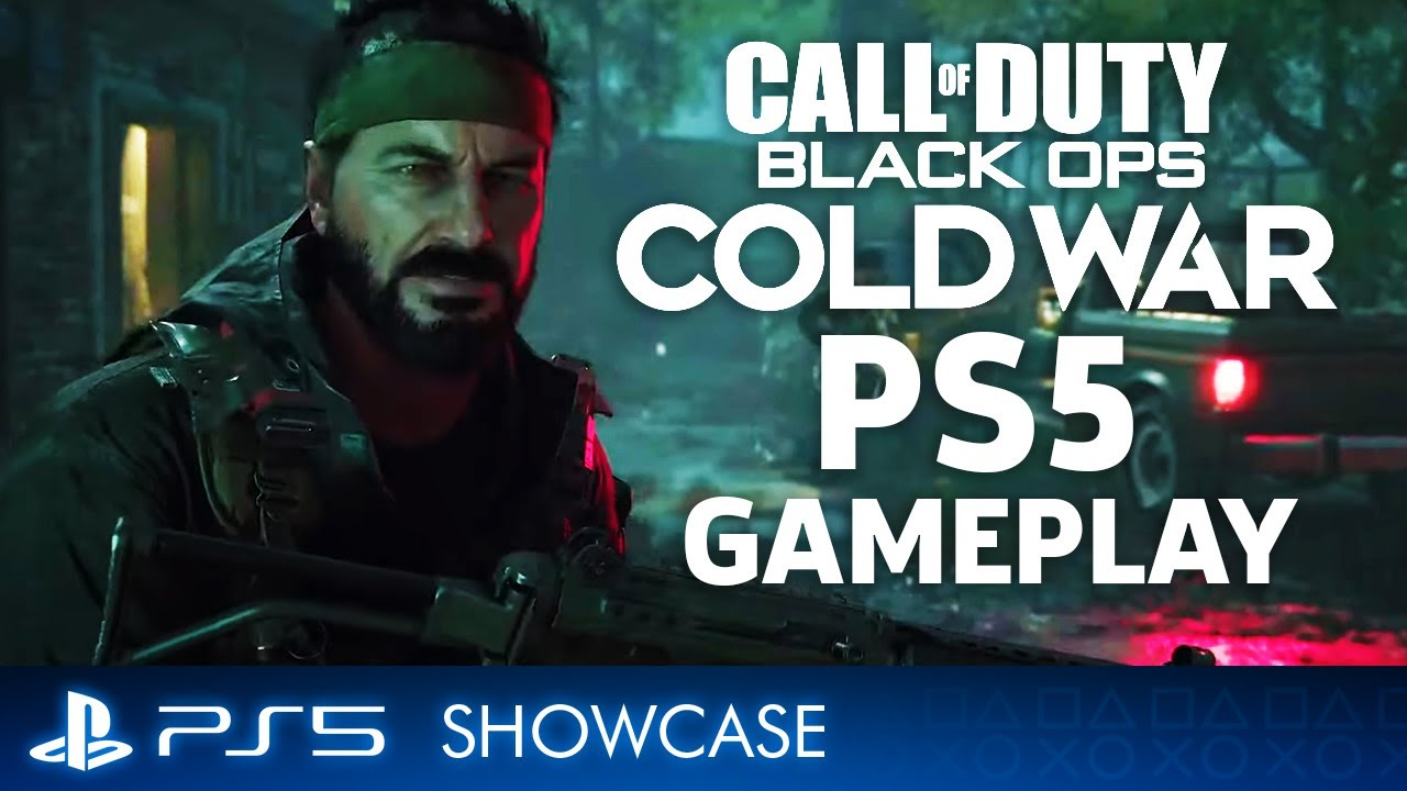 FULL Call Of Duty: Black Ops Cold War - PS5 Gameplay Reveal | PS5 Showcase
