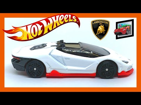 HOT WHEELS 2020 J CASE Lamborghini Centenario Roadster!!!