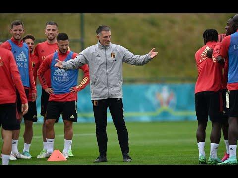 Belgium National team training