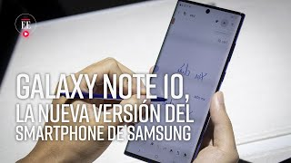 El Samsung Galaxy Note 10 fue presentado en Nueva York - Noticias- El Espectador