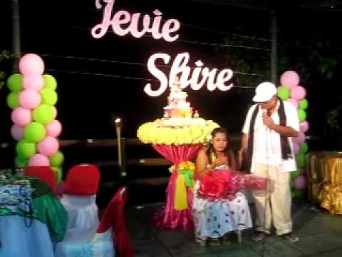 Jevies Surprise Debut Hawaiian Party 5 March 12 2011