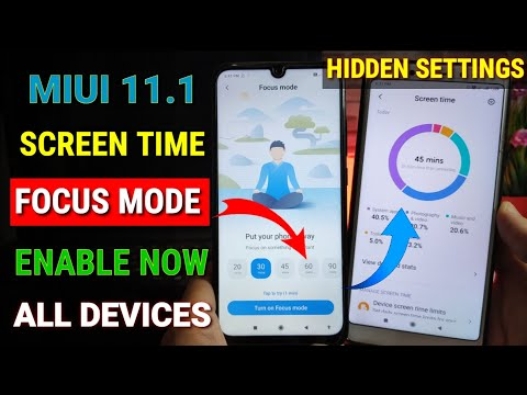 enable-miui-11.1-screen-time-&-focus-mode-feature-in-any-xiaomi-device-|-how-to-use-focus-mode