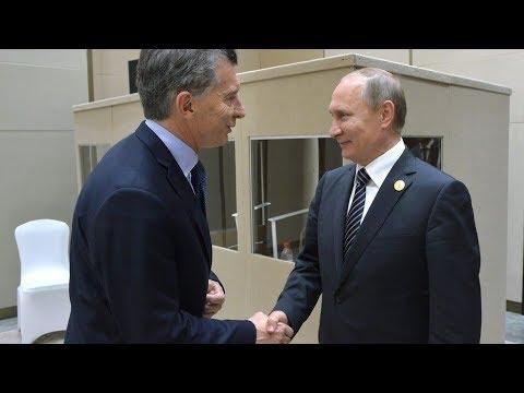 Arrancó la gira presidencial de Macri Rusia