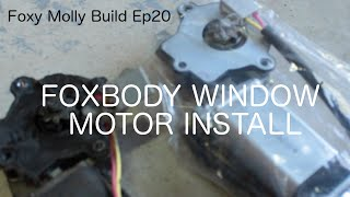 homepage tile video photo for FOX BODY WINDOW MOTOR INSTALL