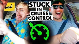Driving using CRUISE CONTROL ONLY - Gus Johnson vs. Donut