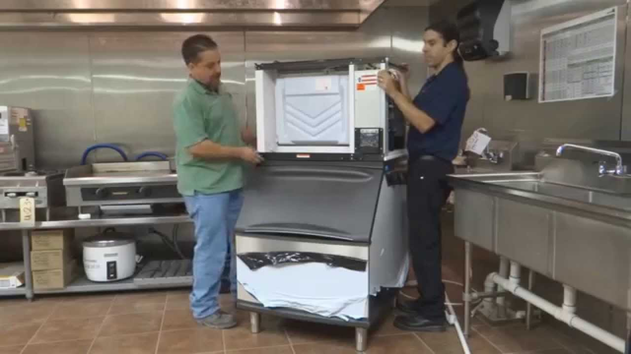 ice machine installation policies \u0026 procedures sd0502a youtube Commercial Water Filtration Systems