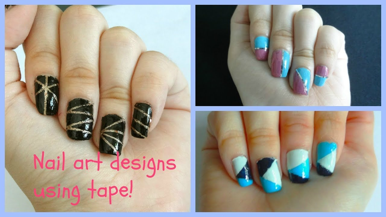 Tips and tricks on how to use nail tape  Explained step by step for  beginners!