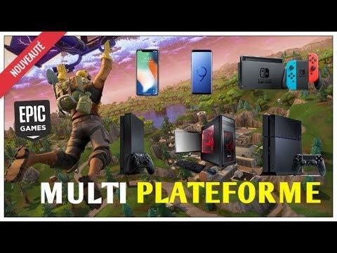 comment jouer a fortnite avec les joueurs switch ps4 xbox et pc - comment jouer a fortnite sur pc et xbox