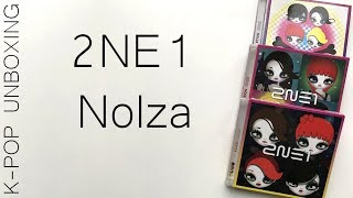 Baixar ♤♡◇♧ 2NE1 Nolza (all three versions) | Unboxing