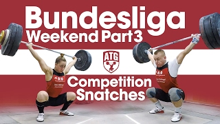Rebeka Koha & Ritvars Suharevs Bundesliga Weekend Part 3 - Competition Snatches + Warm Up