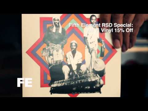 """Fifth Element Record Store Day: All 7"""" Vinyl 15% OFF!!"""