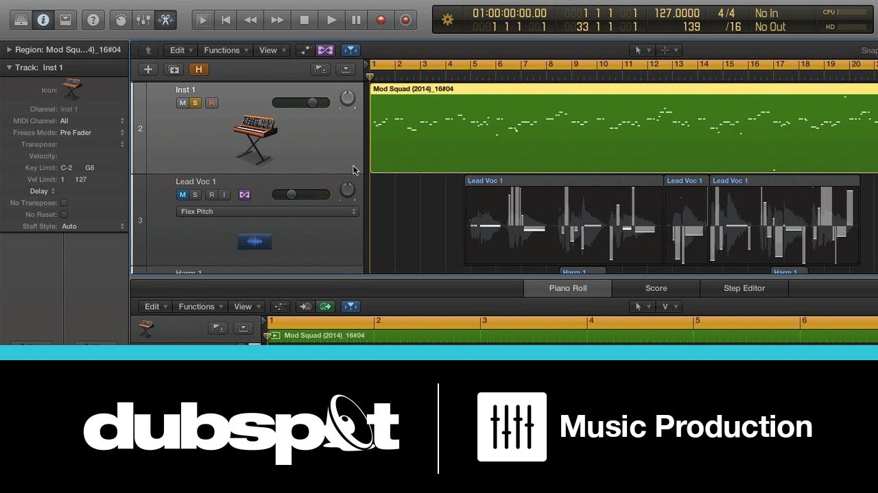 Logic Pro X Tutorial: Editing Vocals and Audio Samples Using 'Flex Pitch'  w/ Bill Lee