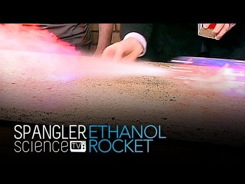 Ethanol Rocket - Cool Science Experiment