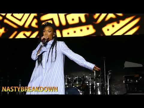 Brandy - Top Of The World & Sittin' Up In My Room (Capital Jazz Fest 2018)