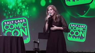 "Jodi Benson (voice of Ariel) Sings ""Part of Your World"" at Salt Lake Comic Con 2017"