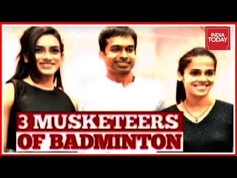 3 Musketeers Of Badminton | Exclusive Conversation With Saina Nehwal, P.V Sindhu & Gopichand