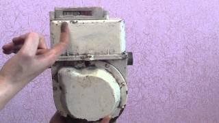 Как остановить газовый счётчик, без магнита и не вскрывая? небольшая хитрость с прибором учёта.