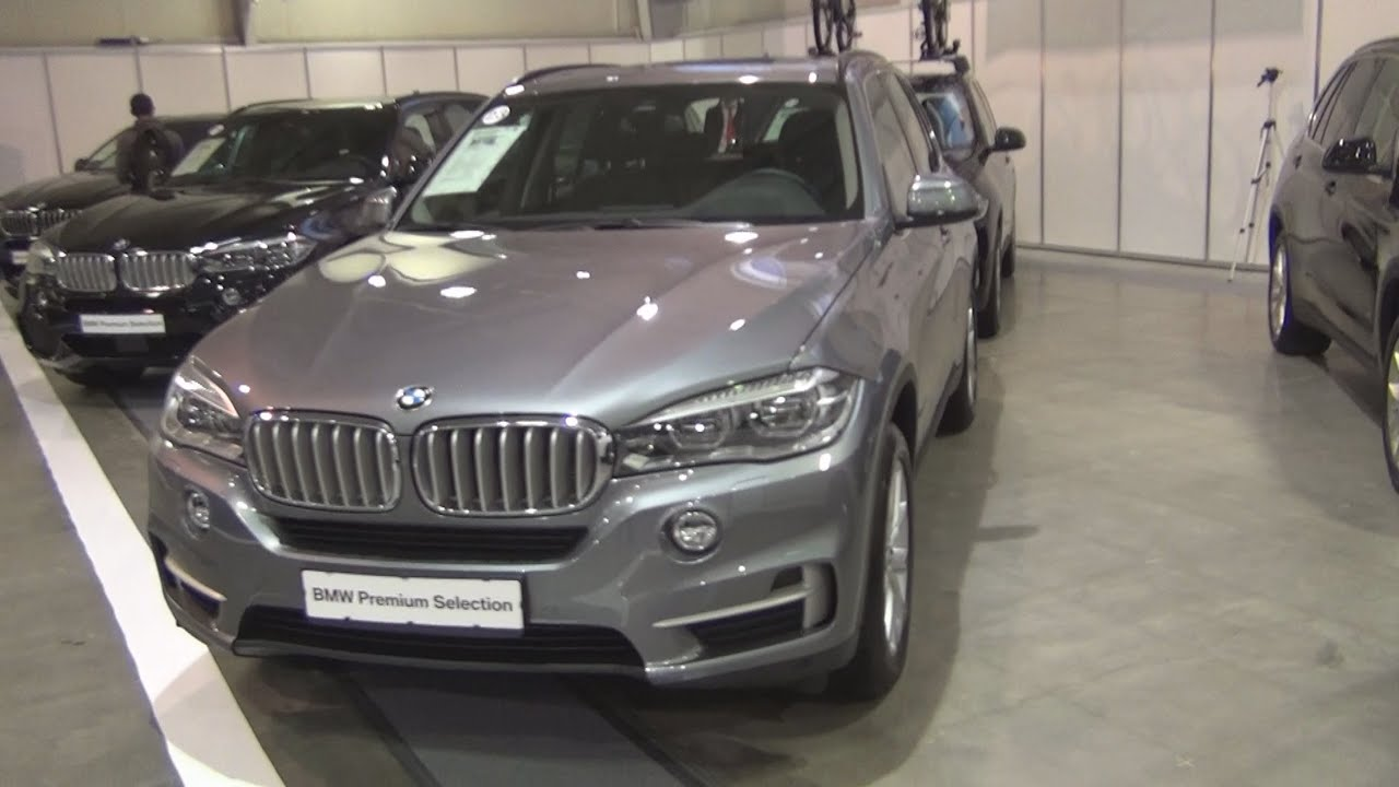 bmw x5 xdrive 40d space grey 2015 exterior and interior in 3d youtube. Black Bedroom Furniture Sets. Home Design Ideas