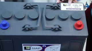 Аккумуляторная батарея SIAP 6 GEL 105 обзор