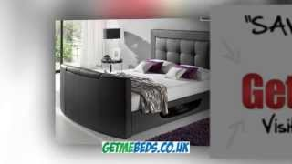 Kaydian Bowburn Leather Television Bed
