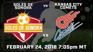 Soles de Sonora vs Kansas City Comets