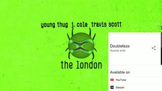 Young Thug - The London (feat.) J. Cole and Travis Scott.[Remake Instrumental]