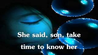 Take Time To Know Her By Percy Sledge ~ Lyrics On Screen ~