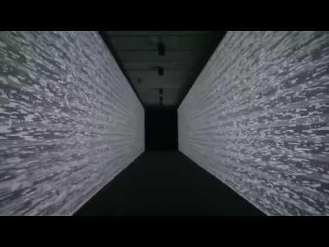 Ryoji Ikeda data.path installation - Madrid