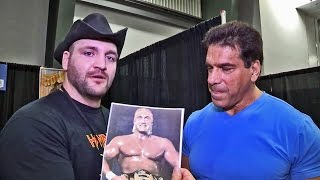 LOU FERRIGNO ON HULK HOGAN