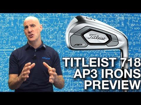 Titleist 718 AP3 Irons - Titleist Iron Sets - Golfbidder