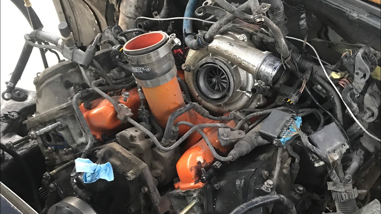 small resolution of duramax head gasket replacement day 1 tear down