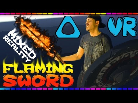 FLAMING SWORD!!! Acan