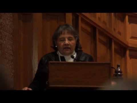Ficklin Media Diane Nash at Yale, MLK, remarks Part 1