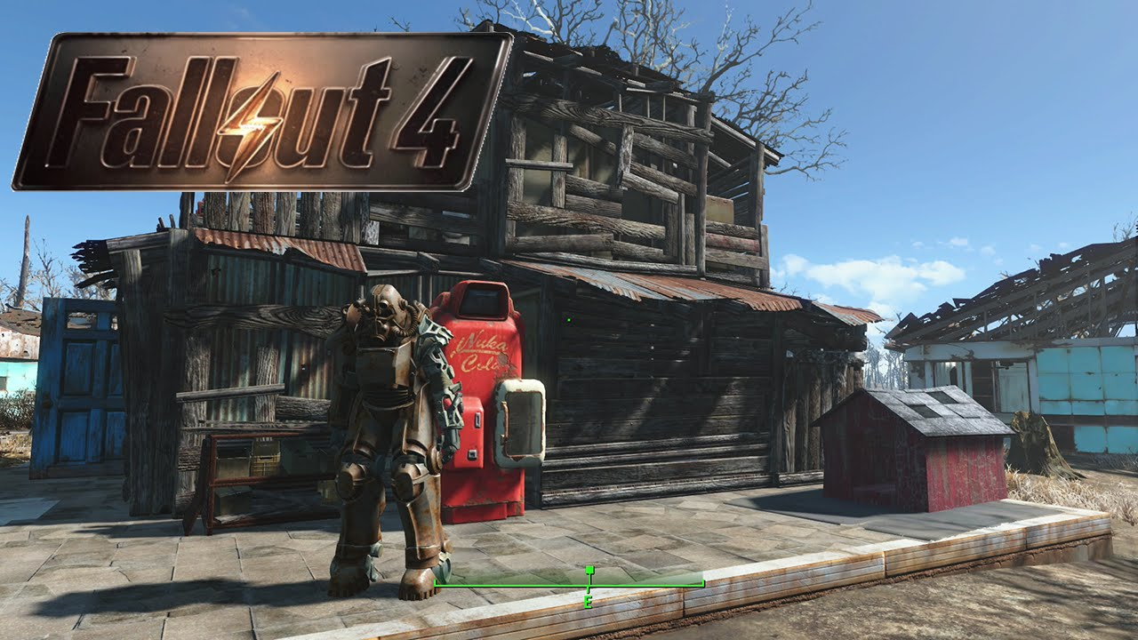 Fallout 4 how to build houses fast in sanctuary base for Best house design fallout 4