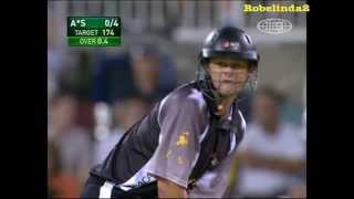 Adam Gilchrist smashes Australia - not fake! Awesome viewing