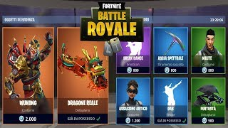 FORTNITE *SHOP* 23/05 | SKIN WUKONG - DRAGONE REALE - BALLO BREAK DANCE