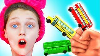 Колеса у автобуса крутятся | Песни для детей от Долгуников | развивающие детские песни