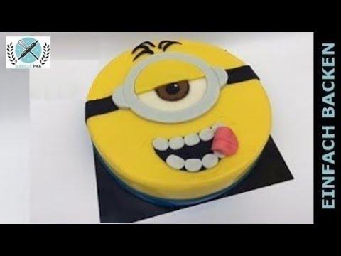 Lustige Minions Torte Zum Selbermachen Youtube