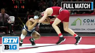 133 LBS: #1 Seth Gross (Wisconsin) vs. #4 Roman Bravo-Young (Penn State) | 2020 B1G Wrestling