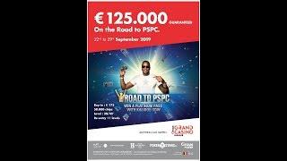 Road to PSPC Namur Main Event day 1C - Grand Casino de Namur Cards up animé par Will Lion