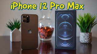 iPhone 12 Pro Max Unboxing, Initial Reactions, and 4K Test Video